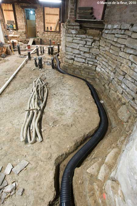 drainage reshaping our footprint