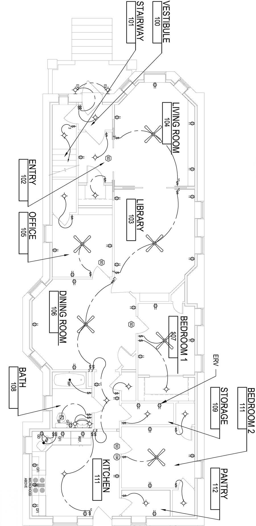 electrical layout  plan view  reshaping our footprint, wiring diagram