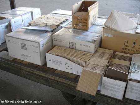 Flooring Reshaping Our Footprint Page - How many floor tiles come in a box