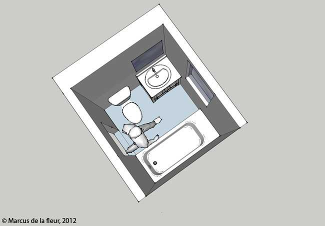 St Floor Bathroom Layout Reshaping Our Footprint - 8 6 bathroom designs