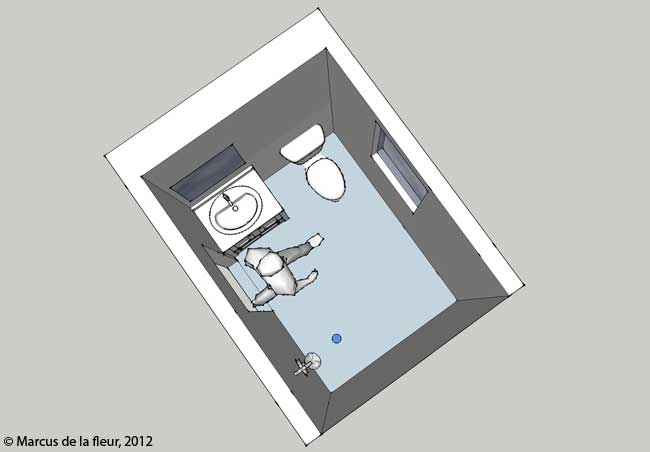 1st floor bathroom layout
