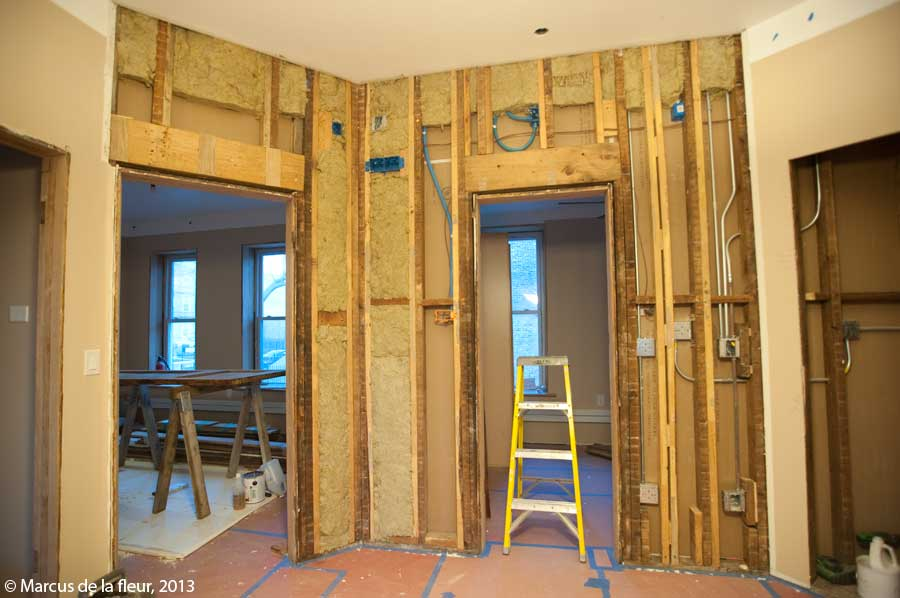 How To Build An Interior Wall With A Door Awesome Home