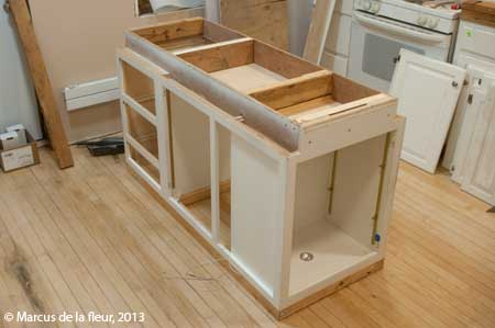 Kitchen Island Base island ideas | reshaping our footprint