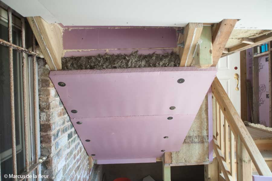 Porch Enclosure Stair Insulation Reshaping Our Footprint